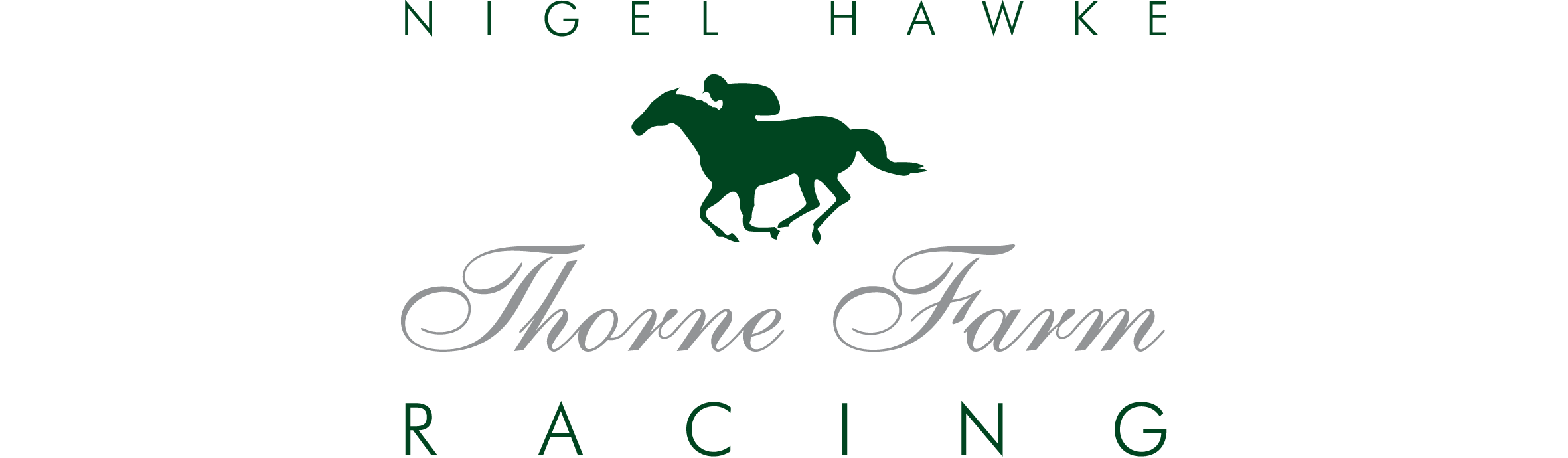 Nigel Hawke Thorne Farm Racing Logo