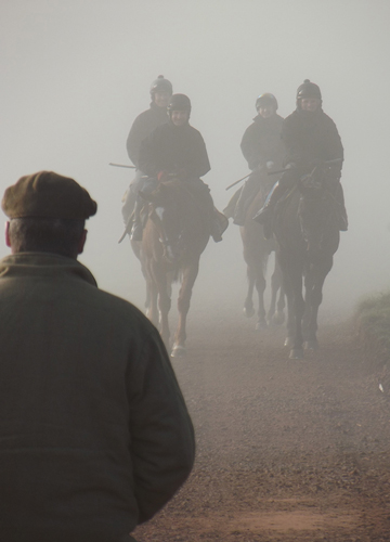 Thorne Farm Racing view towards Exmoor